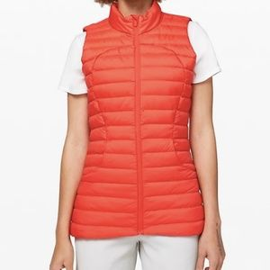 NWOT Lululemon Pack It Down Vest